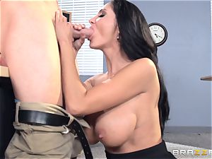 buxomy schoolteacher Ava Addams is plumbed by her student