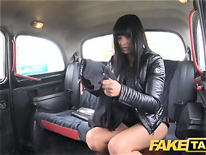 faux cab juicy super-hot brown-haired likes Czech rod