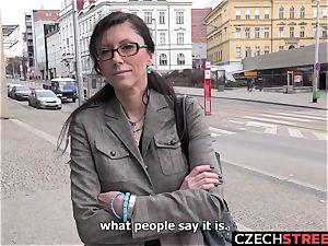 Czech milf secretary Pickup up and penetrated